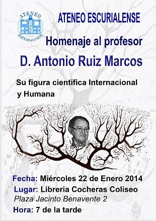 Homenaje Antonio Ruiz Marcos